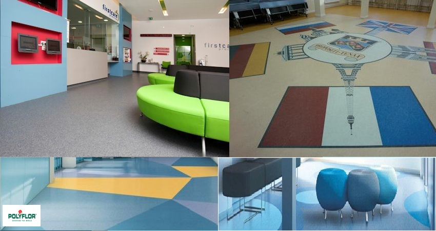 Polyflor is one of the world's leading brands of high quality commercial vinyl and rubber flooring.