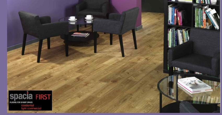 Spacia First offers a range of 10 wood effect floors, each one aesthetically appealing, durable and easy to maintain.